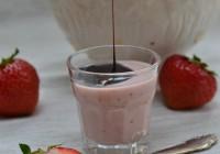 Erdbeer-Panna Cotta