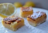 Zitronenschnittchen