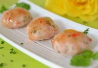 Garnelenbällchen mit süßsaurer Chilisauce