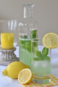 Gurken-Basilikum-Limonade
