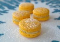 Macarons mit Limetten-Minz-Füllung