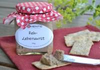 Reh-Leberwurst