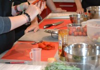 Suppenvorbereitung