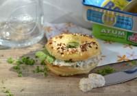 Mini-Bagel mit Thunfischcreme