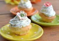 Limonen-Mohn-Cupcakes