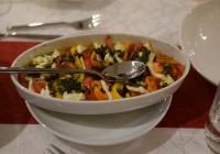 Feta und Gemüse mit Chimichurri